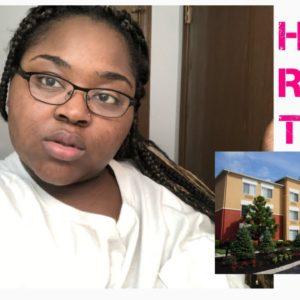Affordable Hotel Room Tour | Atlanta, GA | Imani Dannielle