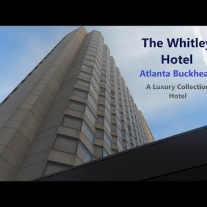 The Whitley Hotel Atlanta Buckhead | Luxury with Chic Southern Style  | Deluxe King Guestroom