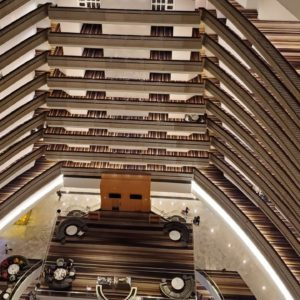 Atlanta Marriott Marquis (Downtown) room tour and review