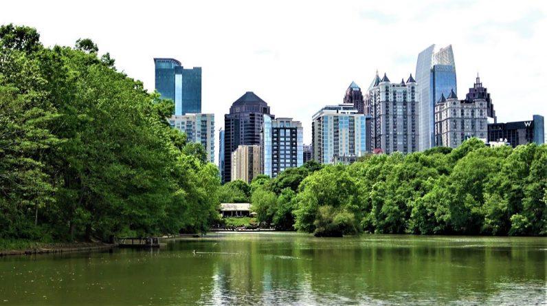 Piedmont Park in Atlanta, Georgia - USA