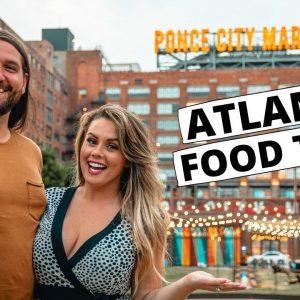 Georgia: Atlanta Food Tour | One Day in the ATL - Travel Vlog