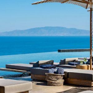 ANDRONIS ARCADIA   Santorini's newest 5-star resort (full tour in 4K)