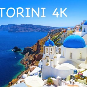 SANTORINI ISLAND (Greece) | Highlights: villages, beaches, sunsets, boat trip & helicopter tour