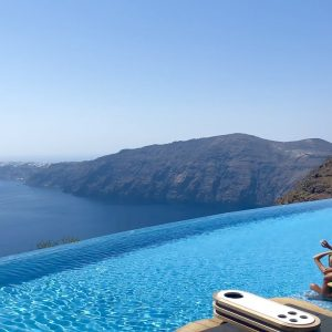 CAVO TAGOO SANTORINI | Sensational boutique hotel with incredible views (full tour in 4K)